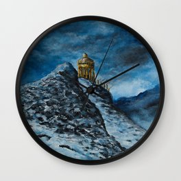The Temple of Dionysus Wall Clock