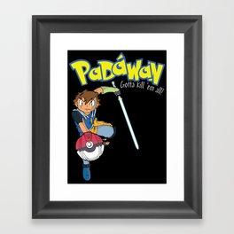 Padawan Framed Art Print