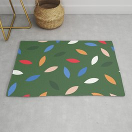 Slow Down A Little - Green Rug