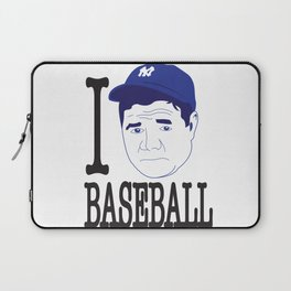 I __ Baseball Laptop Sleeve
