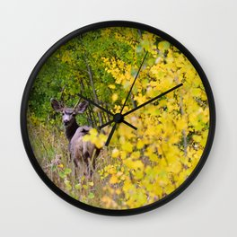 Deerly Beloved Wall Clock