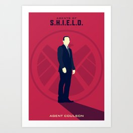 Agent Coulson (Agents of SHIELD S02) Art Print