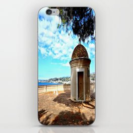 Historic Castle Hill (Colline du Chateau) In Nice iPhone Skin
