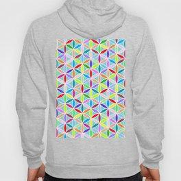 Flower of Life Pattern – Multicoloured Hoody