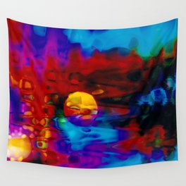Strange Moon Wall Tapestry
