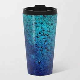 Sea Green Blue Texture Travel Mug