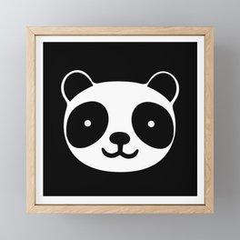 Racing Panda Framed Mini Art Print