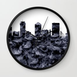 Wichita Skyline Kansas Wall Clock