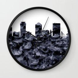 Wichita Skyline Kansas Wall Clock