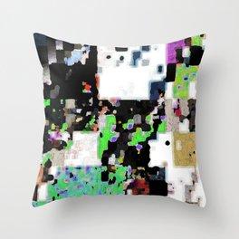 pixelknitting Throw Pillow
