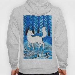 Blue Fox Hoody