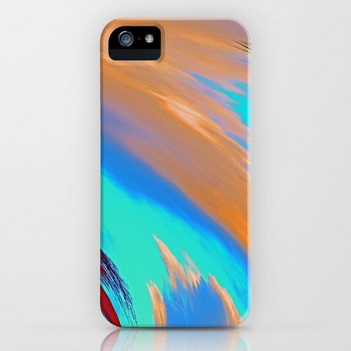 """Tropical Hurricane #2"" Print iPhone Case"