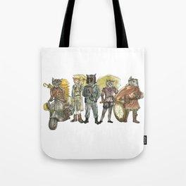 Steampunk Justice Revolution Clan Tote Bag