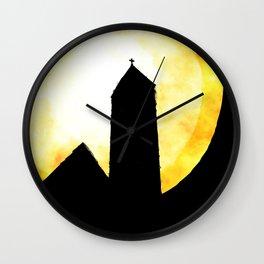 Sunday Morning Church Wall Clock