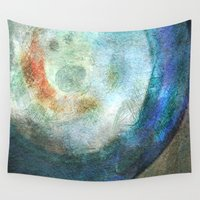 saturn Wall Tapestries featuring Saturn by Fernando Vieira
