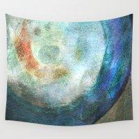 saturn Wall Tapestries featuring Saturn by Fernando Vieira
