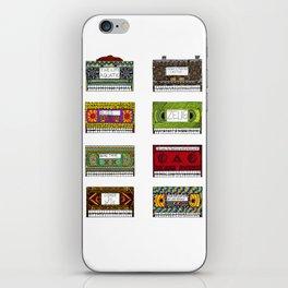 VHS Skulls iPhone Skin