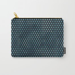 Rain Drop Pattern Carry-All Pouch