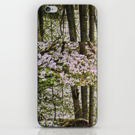 STILLNESS IS A VIRGIN WOOD I iPhone Skin