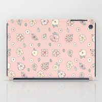 leah flores iPad Cases featuring Flores by Tuky Waingan