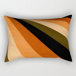 Autumn Stripes Rectangular Pillow
