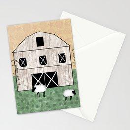 Primitive Barn Stationery Cards
