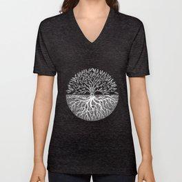 Druid Tree of Life Unisex V-Ausschnitt