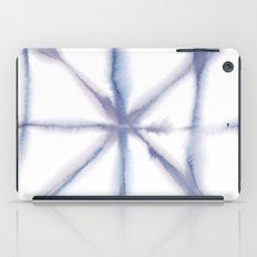 Light Dye - Folding Blues iPad Case