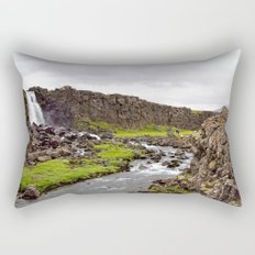 Þingvellir  Rectangular Pillow