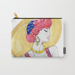 Fashion Illustration - Summer Carry-All Pouch