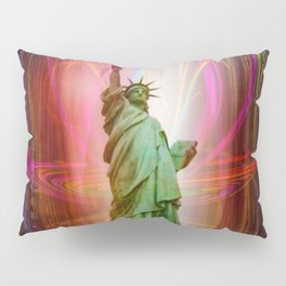 Statue of Liberty Pillow Sham
