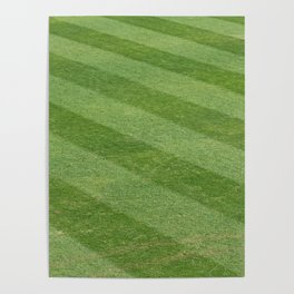Play Ball! - Freshly Cut Grass - For Bar or Bedroom Poster