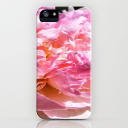 Peony Petals, Mandy Ramsey, Soul Happy Art, Haines, AK iPhone Case