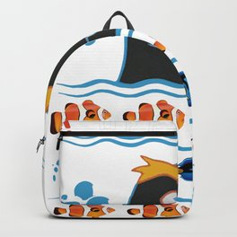 GERALD OFF OFF CHRISTMAS SWEATSHIRT Backpack