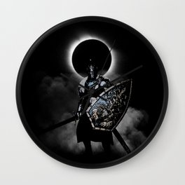 Knight of Faraam Wall Clock