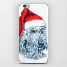 Santa Labradoodle iPhone & iPod Skin