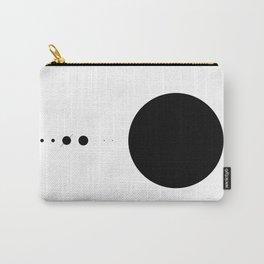 The Solar System (white, no description) Carry-All Pouch