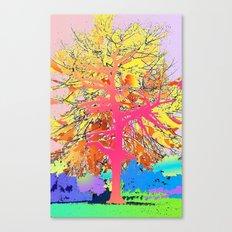 Color Tree Canvas Print