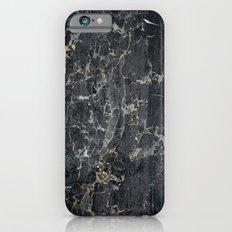 Old black marBLe iPhone 6 Slim Case