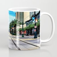 new orleans Mugs featuring New Orleans by Resistance
