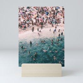 Beach Print, Sea Photo, Modern print, Beach Coastal Decor, Ocean, Beach Photo Mini Art Print