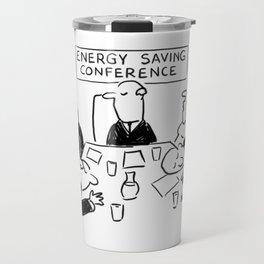 Energy Saving Conference Travel Mug