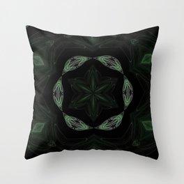 Kaleidoscope 'RK2 SQ' Throw Pillow