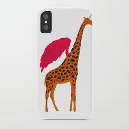 Girafficorn iPhone Case