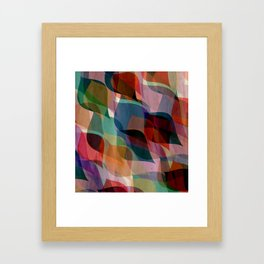 if you leaf me now Framed Art Print