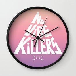 No vibe killers Wall Clock