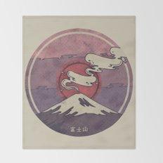 Fuji Throw Blanket