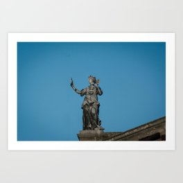 To A Muse Art Print