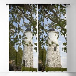 Lighthouse Tower Blackout Curtain