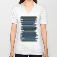 avatar V-neck T-shirts featuring Avatar by rob art | simple